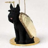 Conversation Concepts Giant Schnauzer Angel Dog Ornament - Black