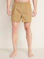 Old Navy Soft-Washed Printed Boxer Shorts for Men