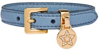 Miu Miu Star Charm Adjustable Bracelet