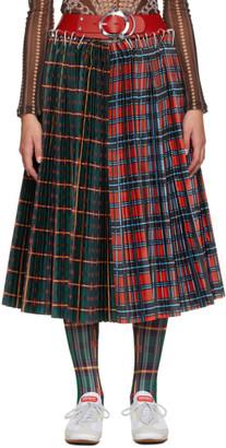 Chopova Lowena Multicolor Haakon Midi Skirt