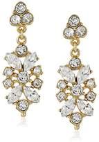 Ben-Amun Jewelry Crystal Drop Earrings