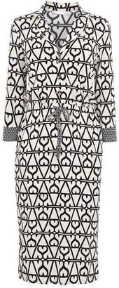 Oui Geometric Print Dress
