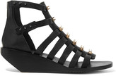 Rick Owens Embellished cutout leather sandals