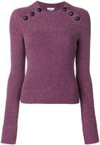 Etoile Isabel Marant Koyle buttoned jumper