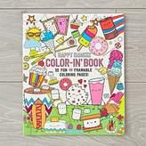 Happy Snacks Coloring Book