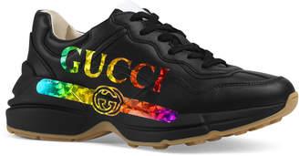 Gucci Rhyton Rainbow Logo Sneakers
