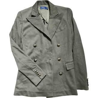 Polo Ralph Lauren Khaki Cotton Jacket for Women