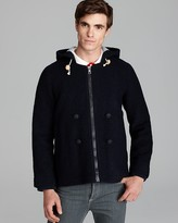 This is Not a Polo Shirt by Band of Outsiders Zip Coat