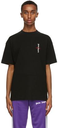 Palm Angels Black Statement T-Shirt