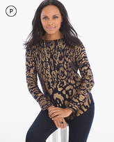 Chico's Foil Shine Sophie Pullover