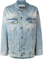 Roberto Cavalli star denim jacket - women - Cotton/Spandex/Elastane - 44