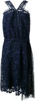 No.21 lace and net sleeveless dress - women - Polyester - 42