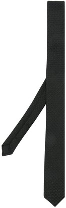 Saint Laurent textured narrow tie