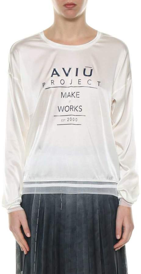 Aviu Printed Top