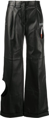 Off-White Meteor straight-leg trousers