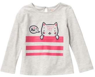 Joe Fresh Hi Cat Top (Baby Girls)
