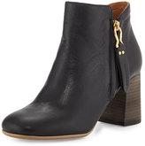 See by Chloe Jamie Side-Zip Ankle Boot, Black