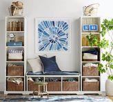 Pottery Barn Samantha 3-Piece Bench & Bookcase Entryway Set