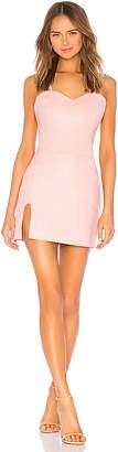 Understated Leather x REVOLVE Split Mini Dress