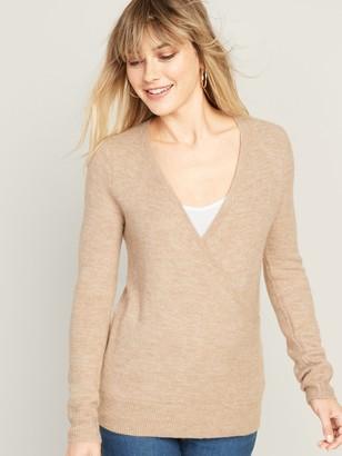 Old Navy Maternity Cross-Front Nursing Sweater