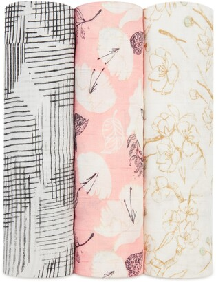 Aden Anais 3-Pack Silky Soft Swaddling Cloths