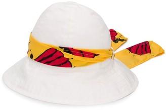 Mini Rodini Ribbon-Embellished Sun Hat