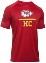 Under Armour Men's Kansas City Chiefs Lockup Tech T-Shirt