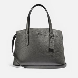 Coach Women's Charlie 28 Carryall Bag - Metallic Graphite