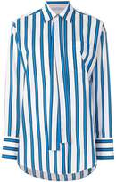 MSGM oversize striped shirt