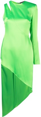 David Koma Cut-Out Detail Dress