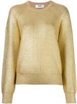 MSGM metallic jumper
