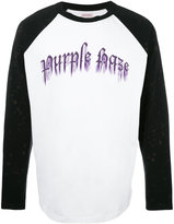 Palm Angels Purple Haze print sweatshirt - men - Cotton - S