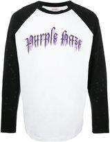 Palm Angels Purple Haze print sweatshirt