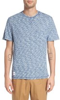 NATIVE YOUTH Men's 'Monsoon' Space Dye Pocket T-Shirt