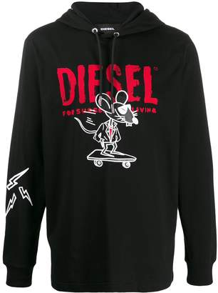 Diesel Year of the Rat hoodie