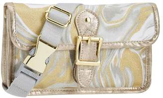 Pottery Barn Teen Northfield Gold Marble Metallic Belt Bag