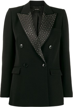 Isabel Marant embellished double breasted blazer