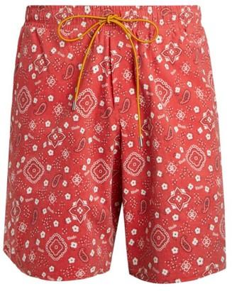 Rhude Bandana Drawstring Shorts