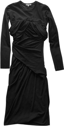 Carven Black Wool Dresses