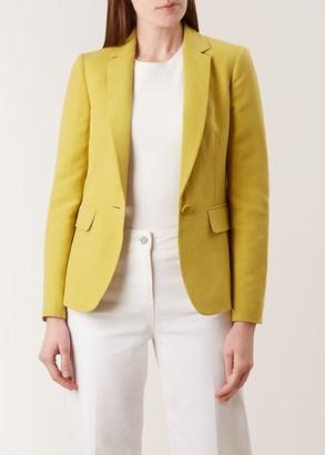 Hobbs Trent Silk Linen Blend Jacket