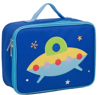 Olive Kids Rocket Embroidered Blue Lunch Box for Boys and Girls