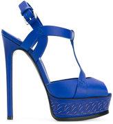 Casadei platform sandals - women - Leather - 37.5