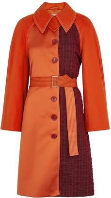 Stine Goya Harrison Orange Panelled Coat
