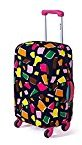 Luggage Cover, Fheaven Elastic Nonwoven Dust-Proof Travel Bag Suitcase Cover 18-20 Inches (D)