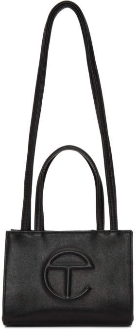 Telfar Black Small Shopping Bag