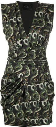 John Richmond Short Snake Print Dress