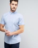 Jack Wills Stableton Short Sleeve Oxford Shirt in Regular Fit