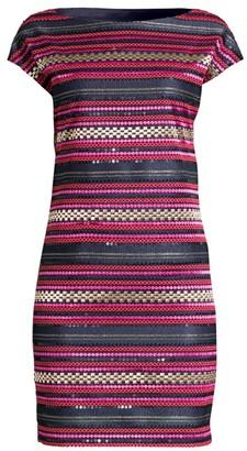 Trina Turk Breene Sequin Sheath Dress