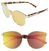 Karen Walker Women's Star Sailor 61Mm Retro Sunglasses - Gold/ Pink