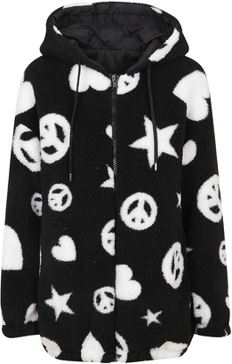 Love Moschino Black Technical Fabric Jacket